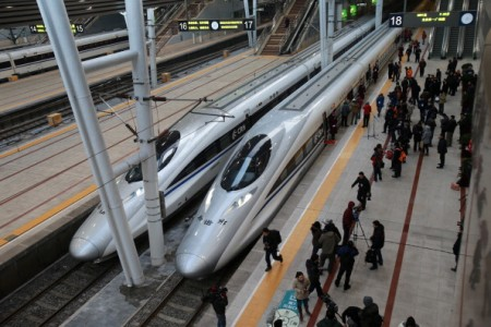 CHINA-RAIL-TRANSPORT
