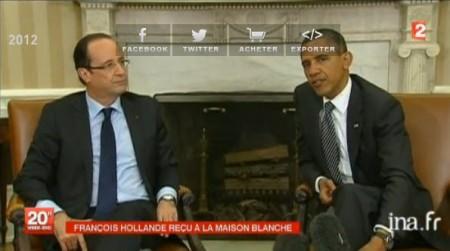 Hollande aux ETats-unis
